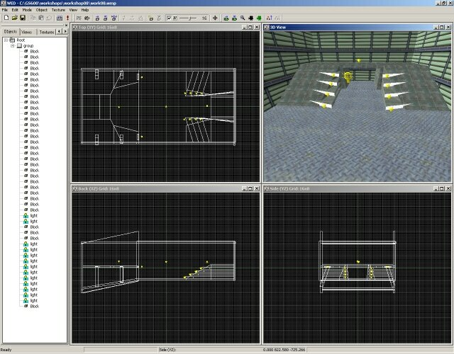 Editor de entornos en 3DGamestudio